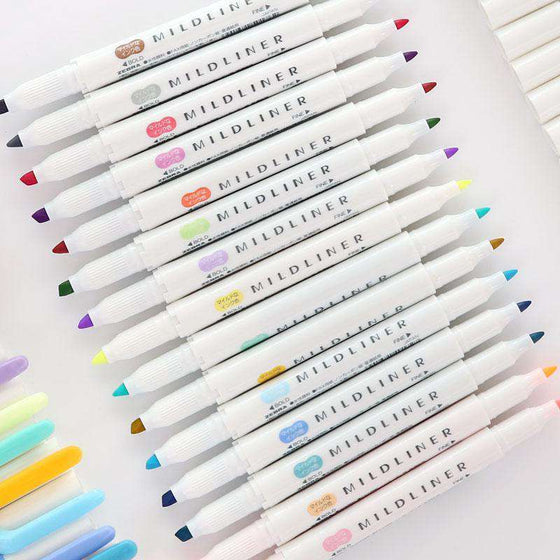 Zebra Mildliner Double-Sided Highlighters