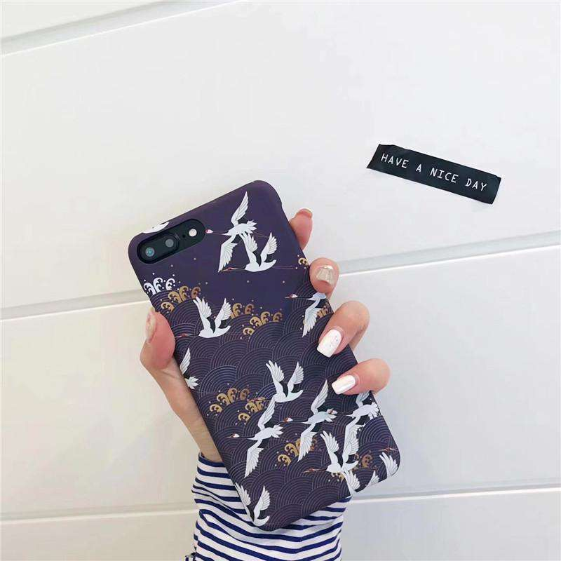 Japanese Cranes iPhone Case