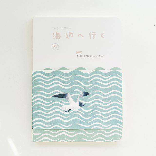 Calming Sea Series Sketchbook