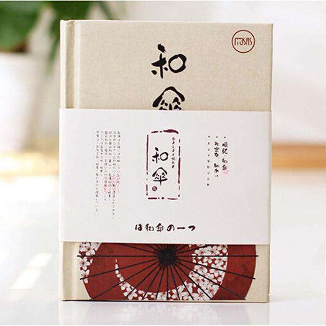 Japanese Painted Illustration A6 Mini Planner