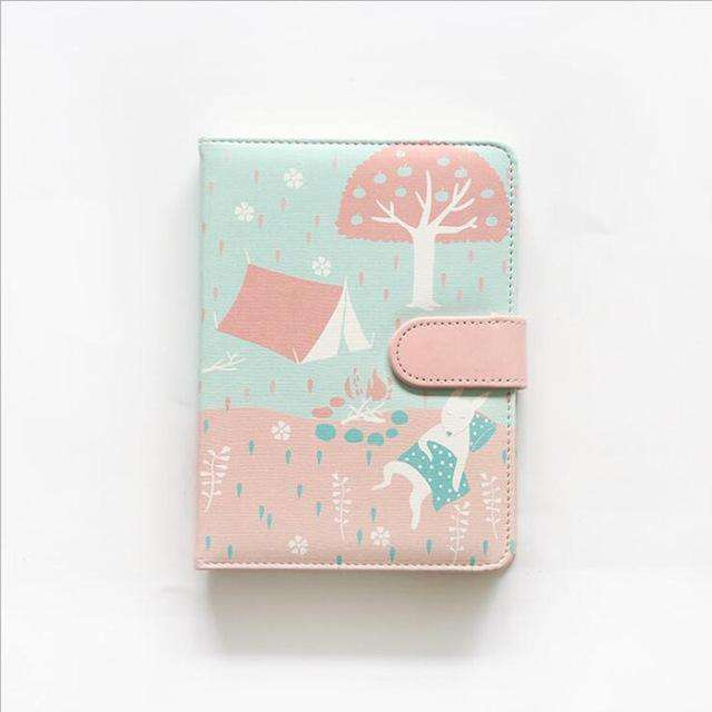 Lovely Week Faux Leather Planner