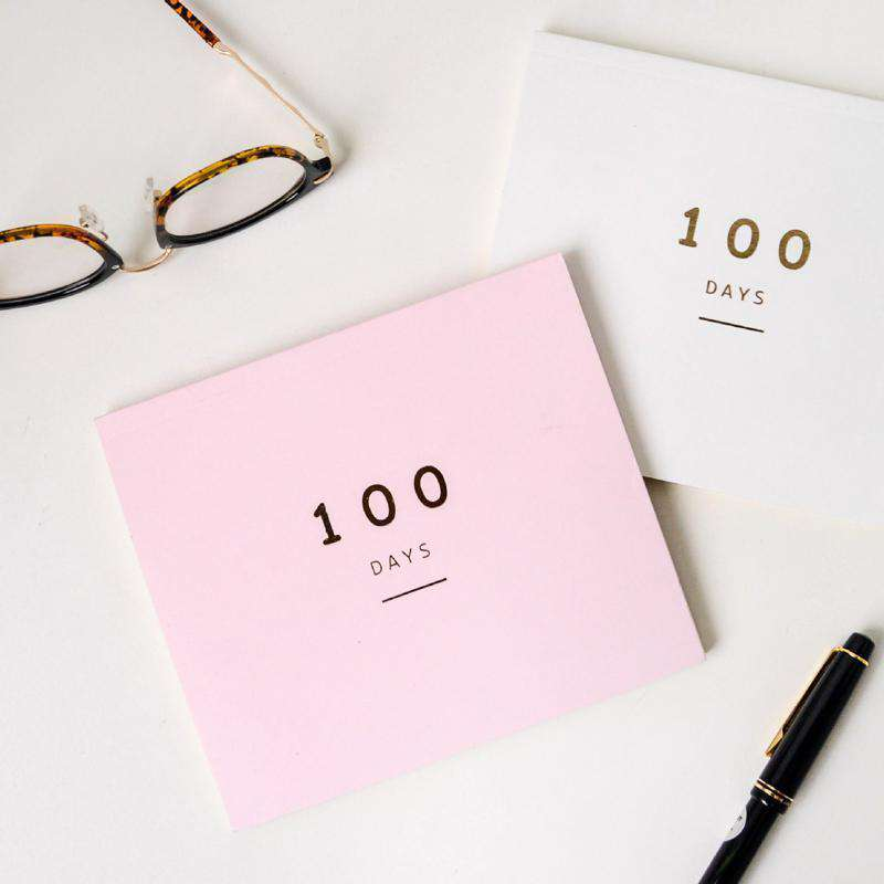 100 Day Countdown Daily Planner