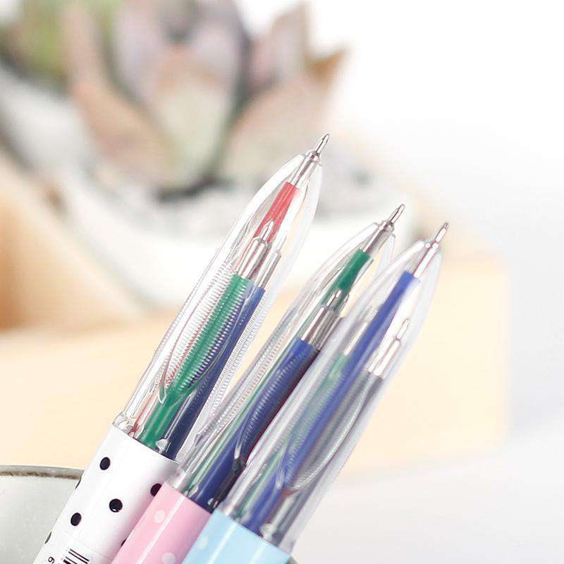 AIHAO Cute Ballpoint Pen - 4 Ink Colors