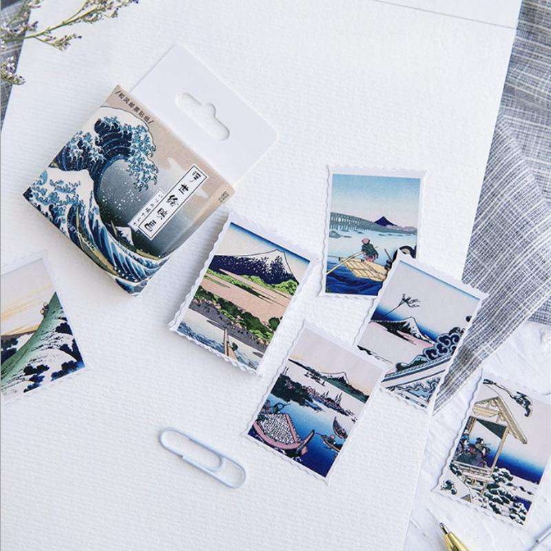 Japanese Landscapes Stickers