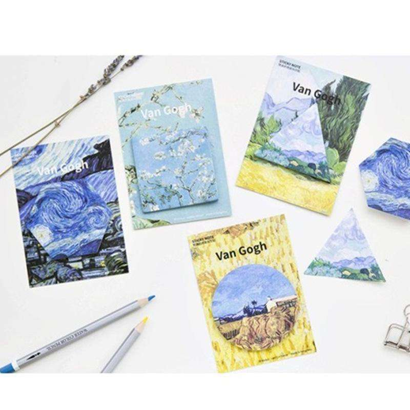 Van Gogh Sticky Notes - Set of 4