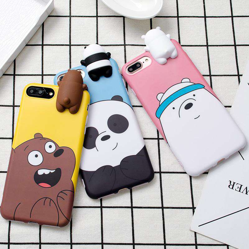 Friendly Bear iPhone Case