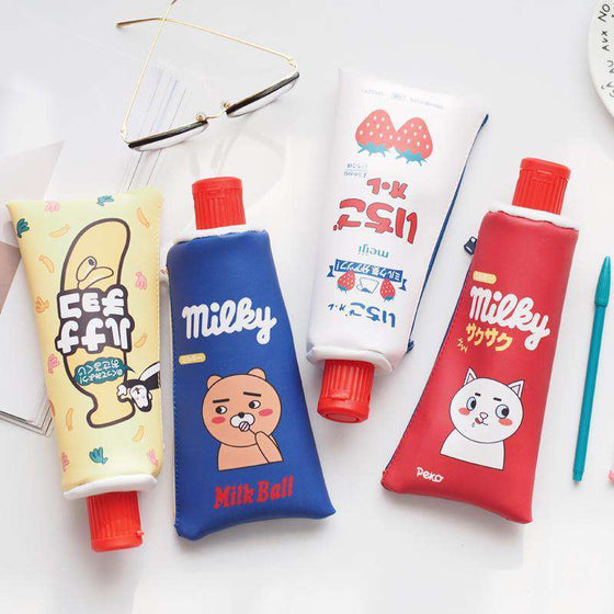 Kawaii Toothpaste Pencil Cases