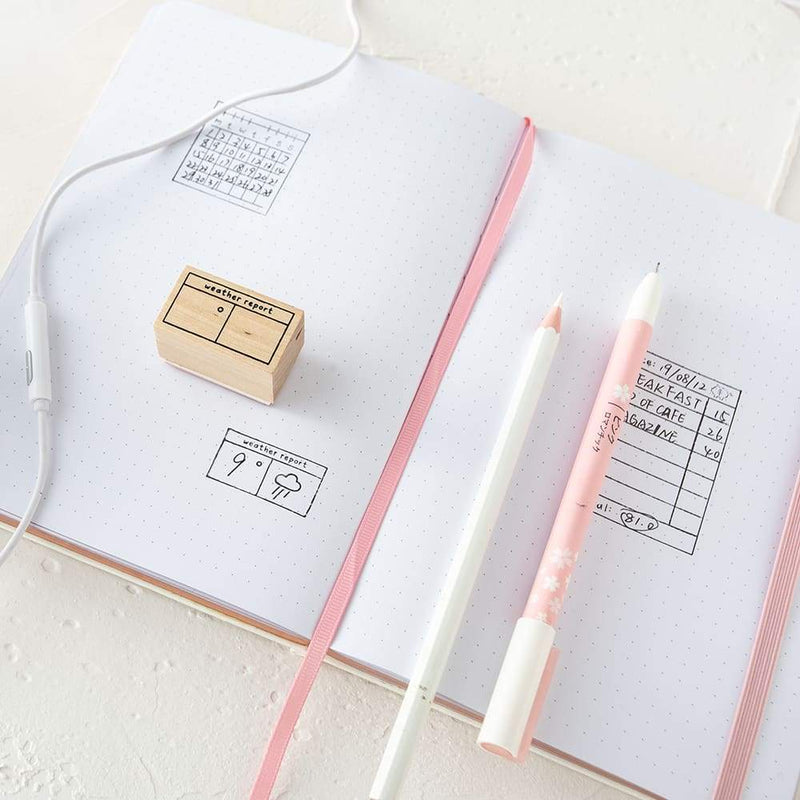 Tsuki Bullet Journal Tracking Stamp Set ☾