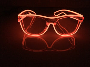 Glow: Lumio Designs light up glasses with transparent frame and lens