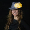 Beauty: Lumio Designs light up LED flowered fedora hat