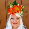Dharma: Lumio Designs floral lit LED festival headband