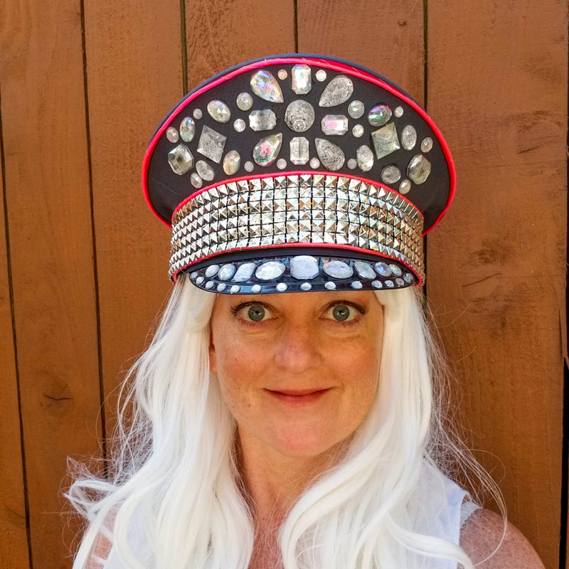 Captain: Lumio Designs Light up Captain's Hat with EL Wire
