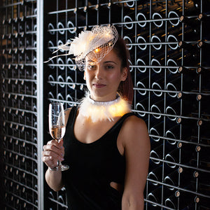 Elegant: Lumio Designs light up LED fascinator