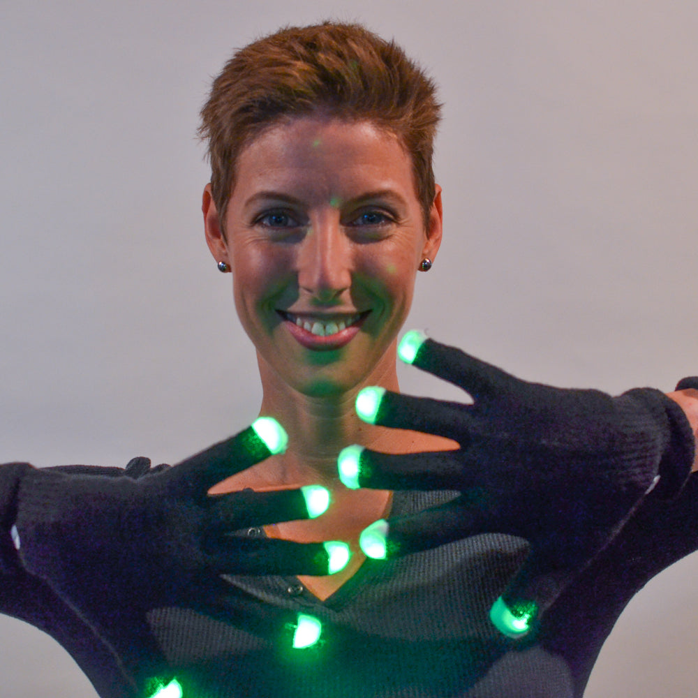 Flow: Lumio Designs LED Gloves