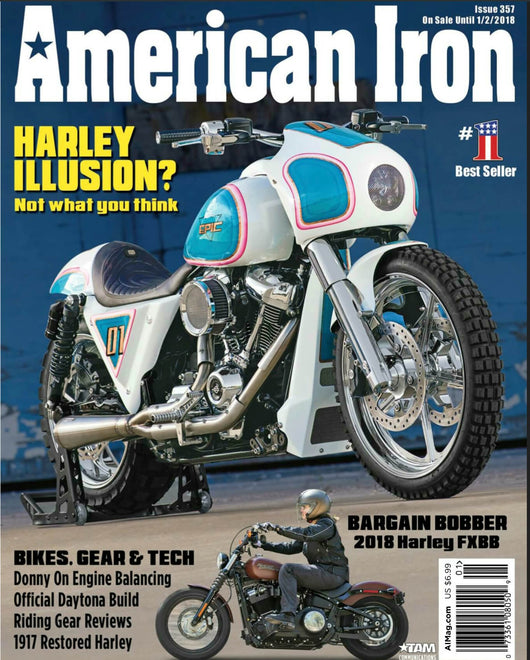 COVER OF AMERICAN IRON