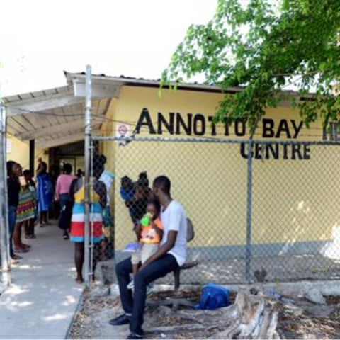 Annotto Bay Health Centre:- Sponsored by Jamiaca