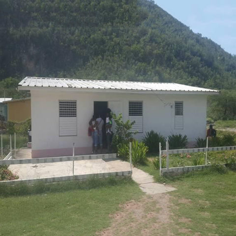 Bull Bay Health Centre :-Sponsored by Brammer Family.