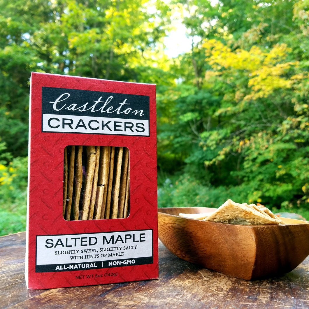 Salted Maple Castleton Crackers
