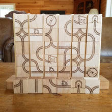Wood Train Track Toy + Game
