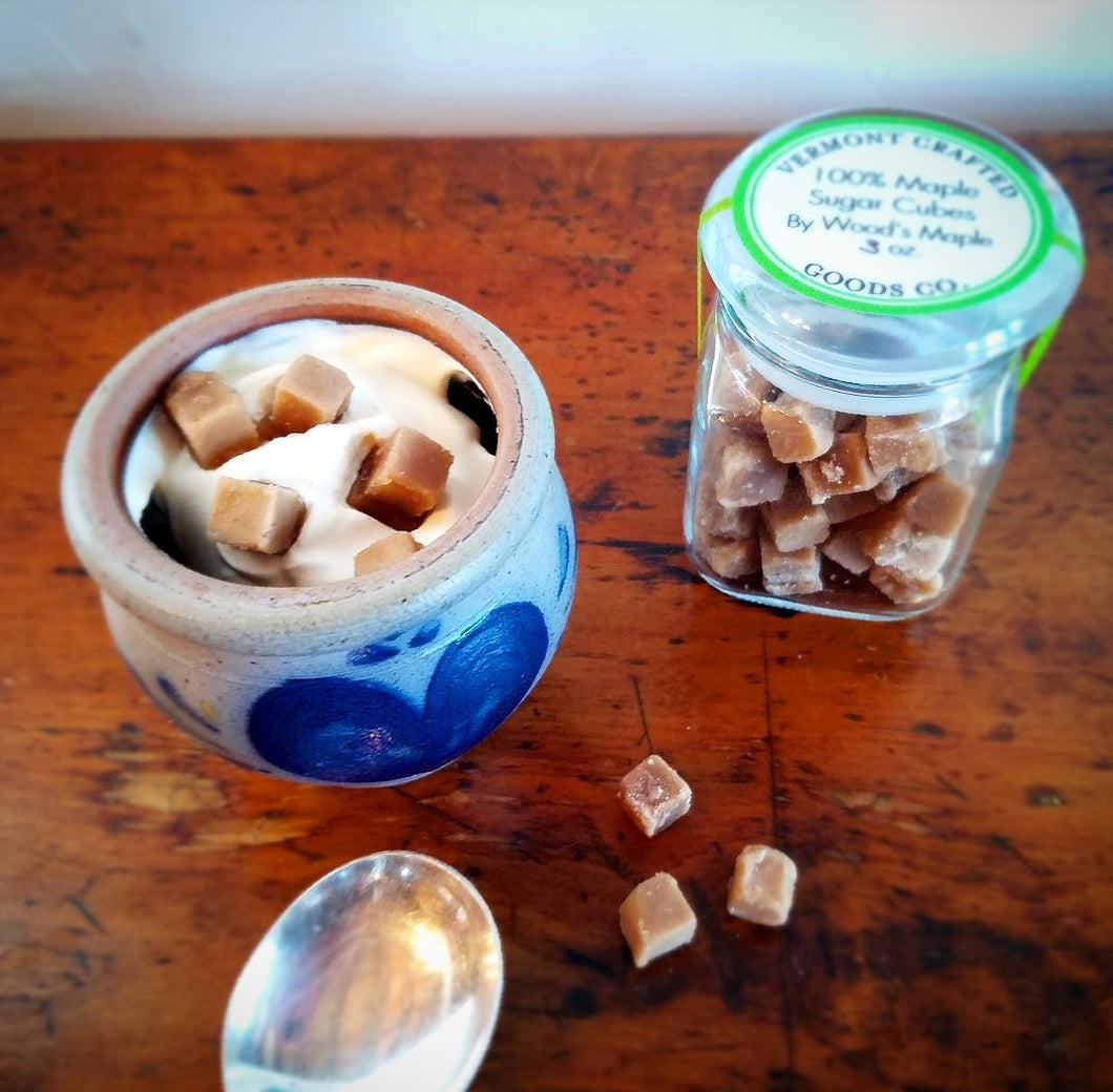 Maple Sugar Cubes