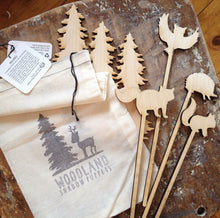 Woodland Shadow Puppet Set