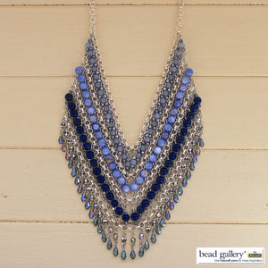Blue Jean Jewelry Set