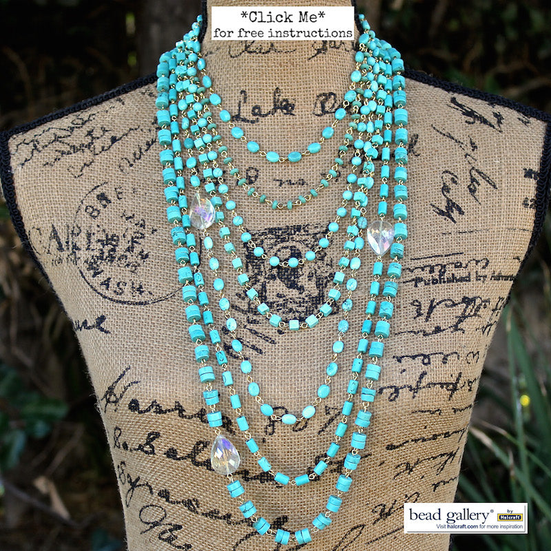 Cascading Necklace Set