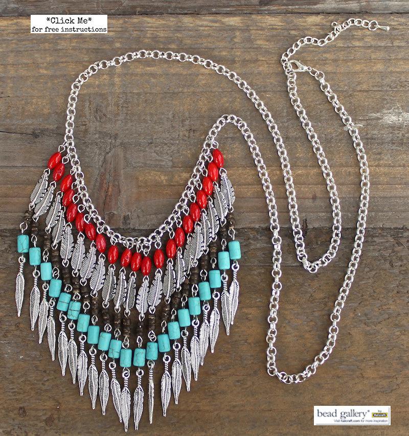 Feather Tribe Jewelry Set