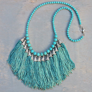 Festival Fringe Jewelry Set