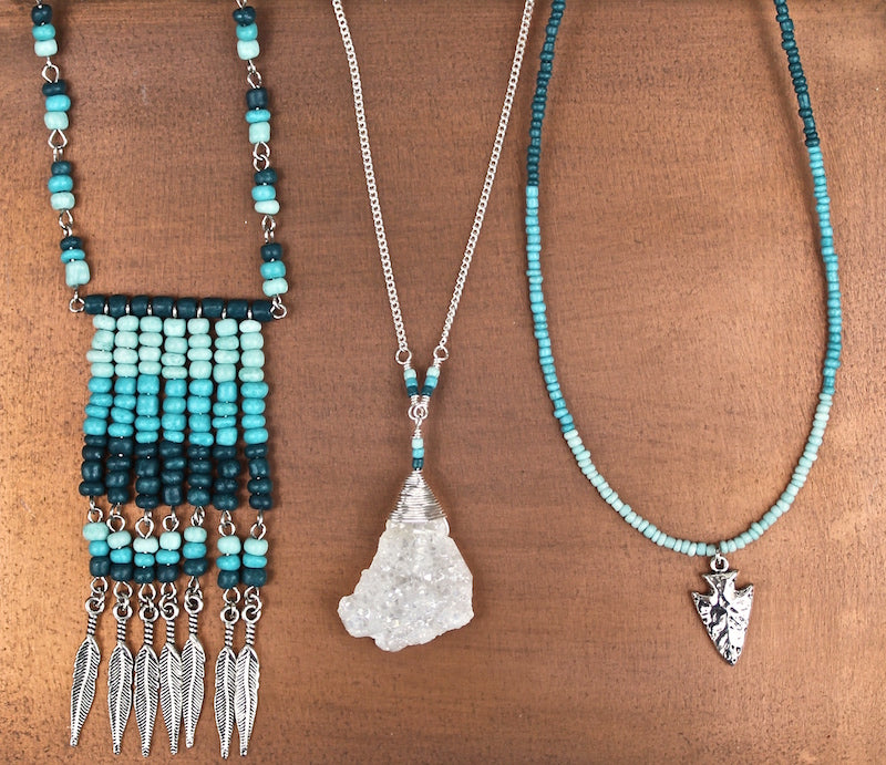 First Nation Jewelry Set