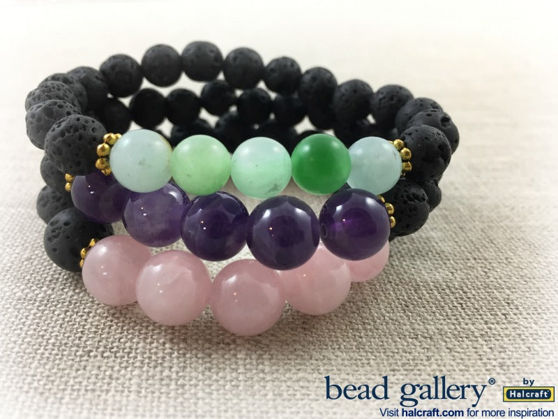 How to Make Lava Bead Diffuser Jewelry.
