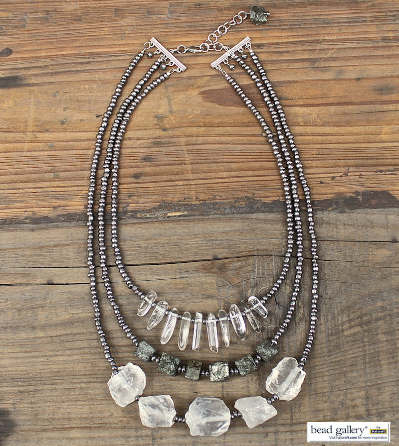 Metro Metal DIY Jewelry Set