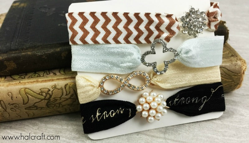 Fancy Hair Tie using Bead Gallery beads
