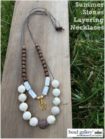 Monday Make :: Summer Stones Layering Necklaces