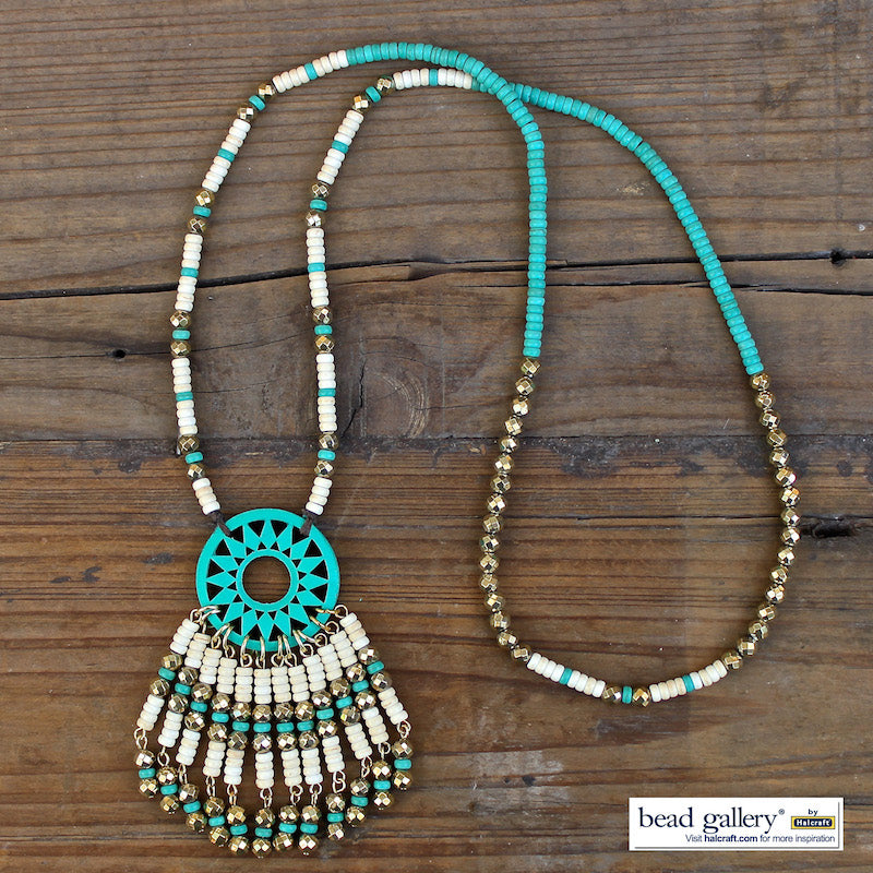 Turquoise Summer Jewelry Set