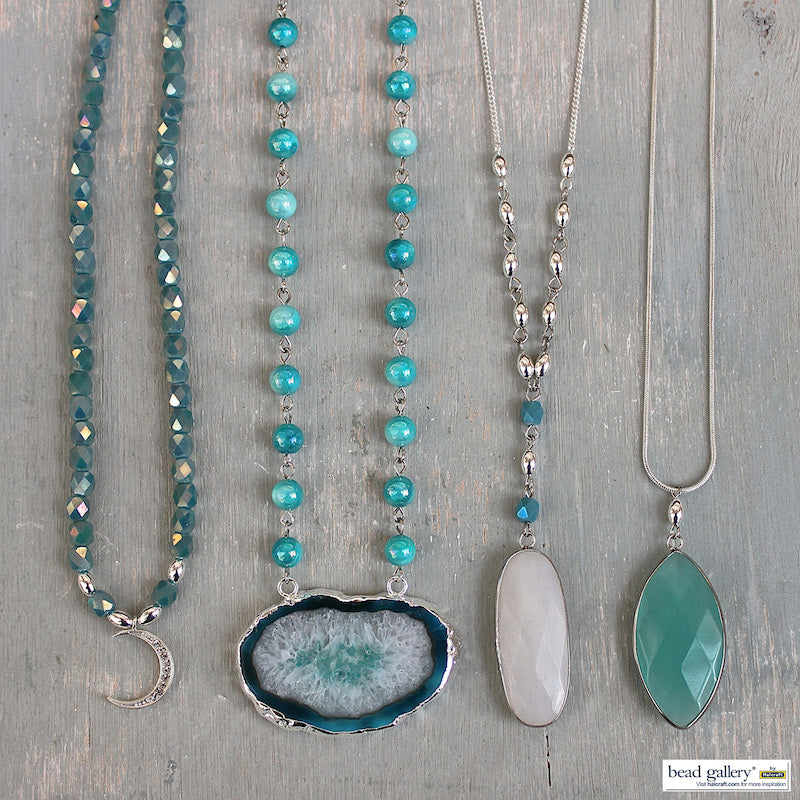 Verre Bleu Jewelry Set