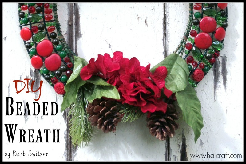 Monday Make :: Beaded Wreath