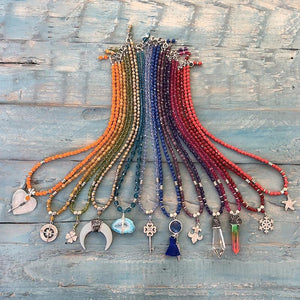 Autumn Shine DIY Necklaces Bead Collection by Halcraft Collection