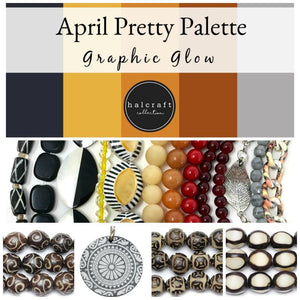 April 2020 Pretty Palettes by Halcraft Collection