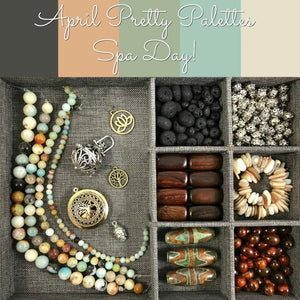 April Pretty Palettes Collection by Halcraft Collection
