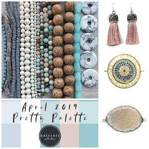 April 2019 Pretty Palette Collection by Halcraft Collection