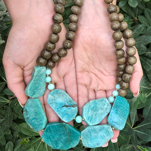 Aqua Island DIY Beaded Necklace Collection
