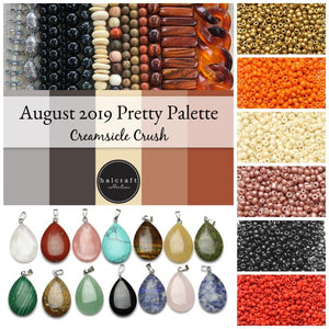 August 2019 Pretty Palette by Halcraft Collection