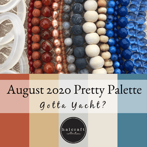 Agosto de 2020 Pretty Palette - ¿Tienes un yate? por Halcraft Collection
