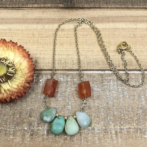 Bijou DIY Necklace by Halcraft Collection