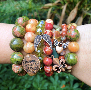 Autumn Vibes DIY Bracelet Stack Collection by Halcraft Collection