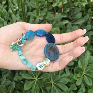 Aqua Garden DIY Bracelet Collection by Halcraft Collection
