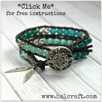 Leather Wrap Open Web