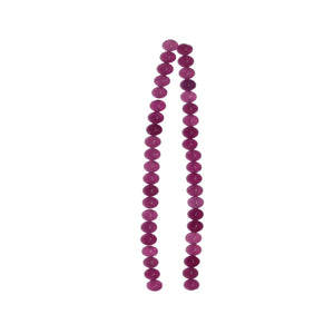 Pink Dyed Dolomite 6mm  Stone Round