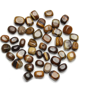 Super Bundle - Jasper Stone Nugget 7x10mm Beads(3Packs/42Pieces)Beads by Halcraft Collection